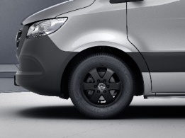 Sprinter Chassis Cab, 40.6-cm (16-inch) 6-spoke light-alloy wheels, painted black