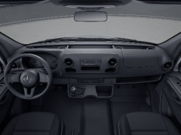 Sprinter Chassis Cab, cup holders on instrument panel